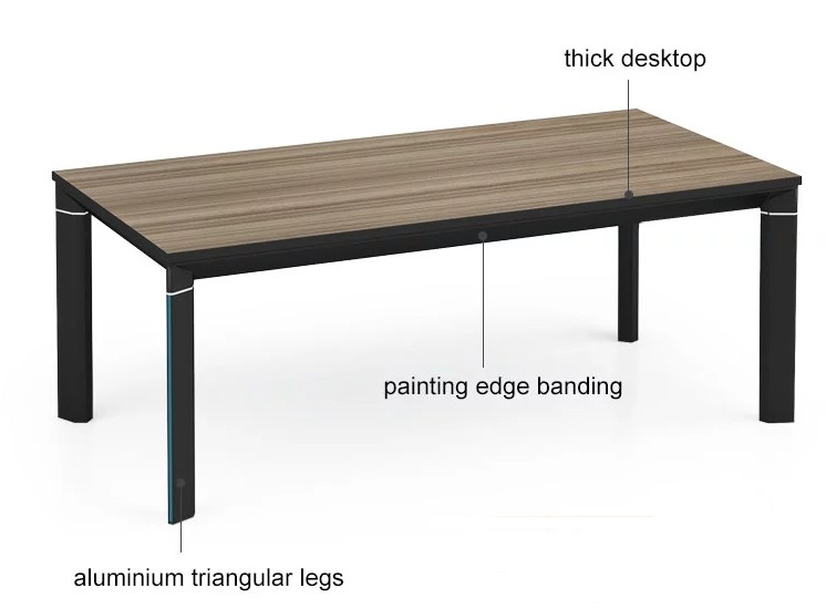 Wholesale long metal frame assorted color coffee table (LT-01F1206)