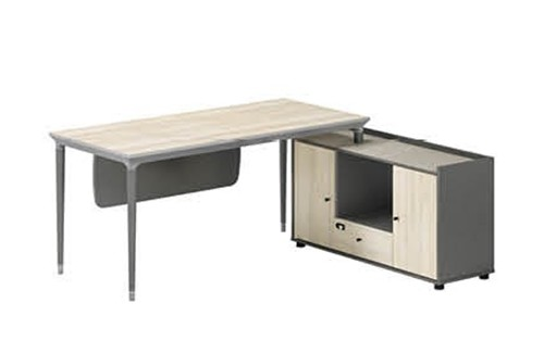 Modern Design L Shaped Executive Office Desk, Made of MDF(RS-32T1816)