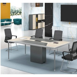 Modern Design 6 Seater Conference Table, made of melamine board (RS-32C2412)