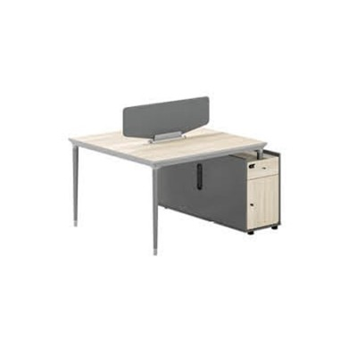 2-Person Office Screen Workstation With File Cabinet(RS-32W1412)