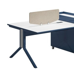 4-Person Office Screen Workstation Office Desk With File Cabinet ( MS-58W2812)
