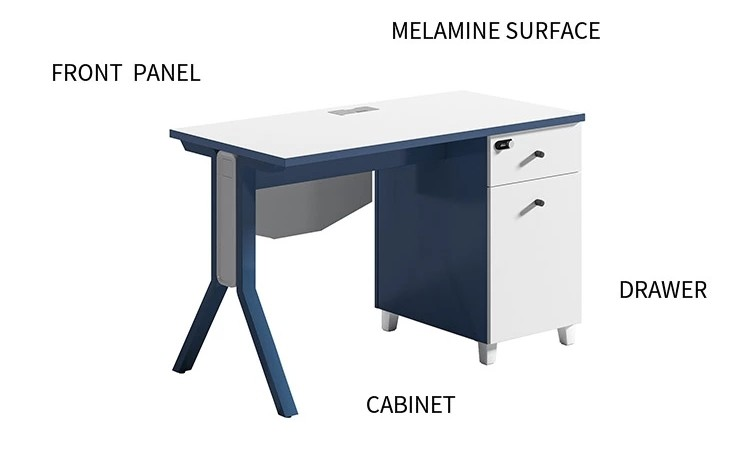 1-Person Office Workstation With File Cabinet ( MS-51W1206)
