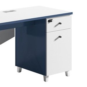 1-Person Office Workstation Office Desk With File Cabinet ( MS-51W1206)