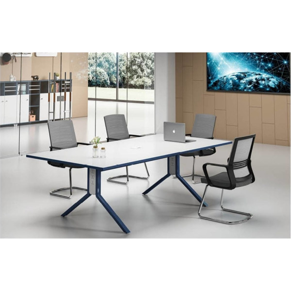 Modern Design 6 Seater Conference table with utility outlet (MS-51C2412)