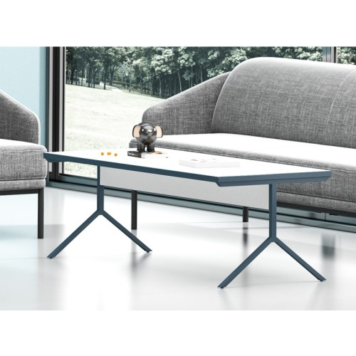 Wholesale Custom modern design rectangle wooden office tea table (MS-51F1206)