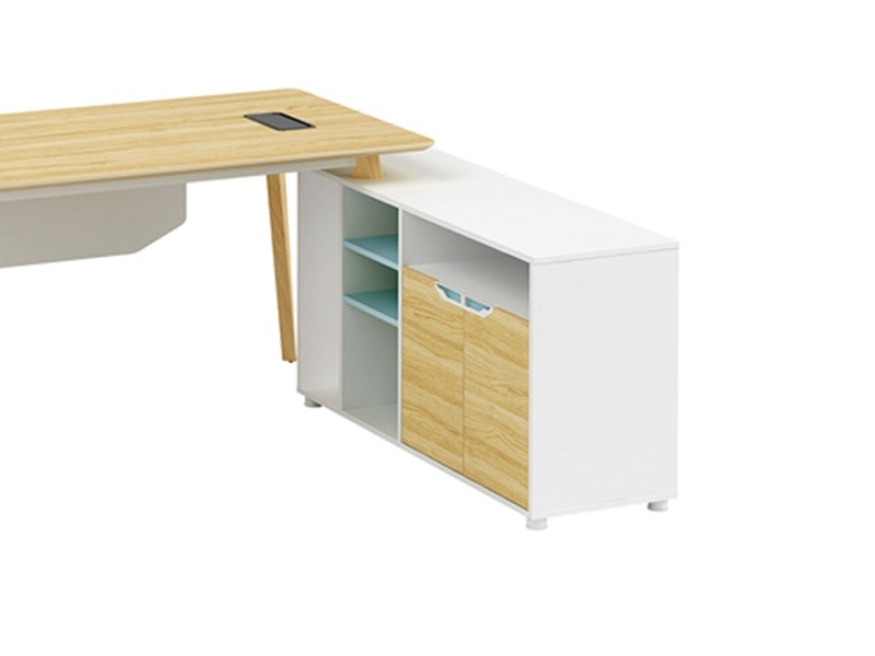 Modern Design L Shaped Executive Office Desk, Made of MFC(YM-04T1616)