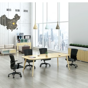 Modern Design 6 Seater Conference Table, made of melamine board (YM-01C2411)