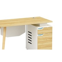 1-Person Office Screen Workstation Office Desk With File Cabinet ( YM-02W1206)