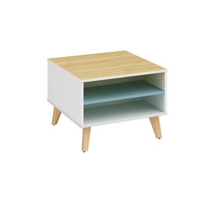 Wholesale small square corner coffee table   (YM-01F606)
