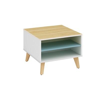 Wholesale small square corner coffee table   (YM-01F606)
