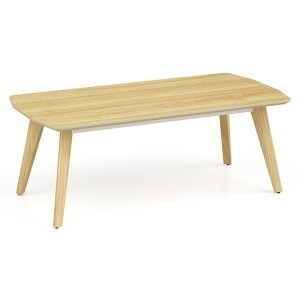 Wholesale modern simple design MDF leisure rectangle coffee table (YM-02F1206)