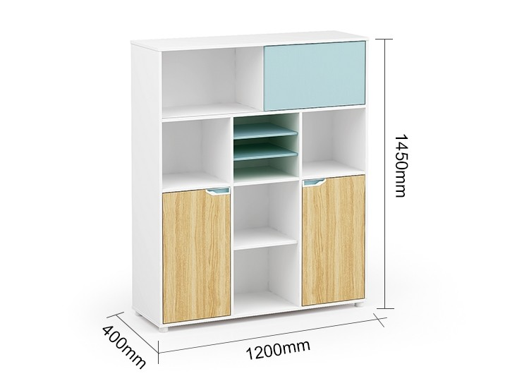 Wholesale simple design wooden office  cabinet storage(YM-06Z1214)
