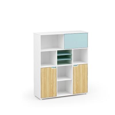 Wholesale simple design wooden office  cabinet storage(YM-06Z1214)