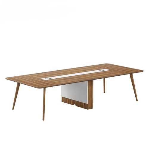 Modern Design 8 Seater Conference Table, made of melamine board (DS-01C3214)