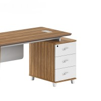 1-Person Office Workstation Office Desk With File Cabinet ( DS-01W1206)