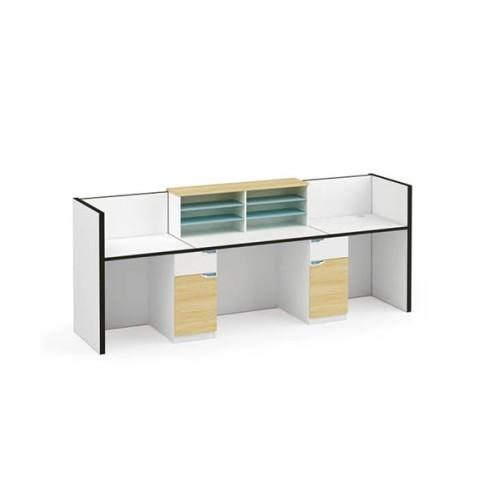 Wholesale high-quality modern office receptionist desk (ZM-02R2808)