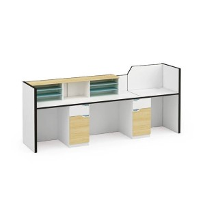 Wholesale high-quality modern office receptionist desk (ZM-01R2808)