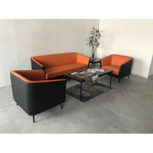 Modern Office Sofa, PU And Solid Wood Inner Frame(SF-L2194)
