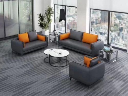 Modern Office Sofa, PU And Solid Wood Inner Frame(SF-L2199)