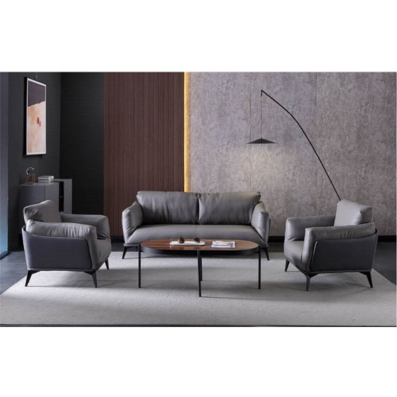 Wholesale Modern Office  Sofa With Solid Wood Inner Frame(SF-B37)