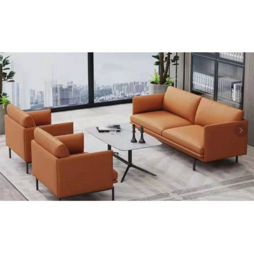 Wholesale Modern PU Office Sofa With Solid Wood Inner Frame(YF-816)