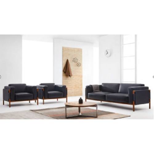 Wholesale Modern PU Office Sofa With Solid Wood Inner Frame(YF-18011)