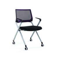 Modern Office Stackable Training Chair with Cushion(YF-LY-Y1)