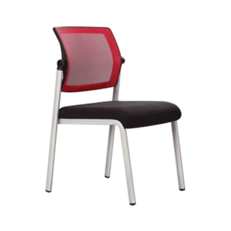 Stackable Training Chair with Comfortable Cushion and Mesh Back (YF-H1)