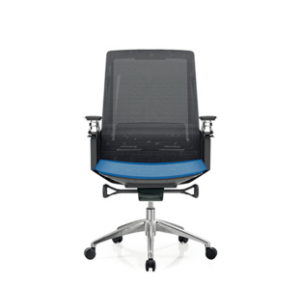 Height Adjustable Green Mesh Office Executive Chair with Headrest and Castor Base (TL-B33)