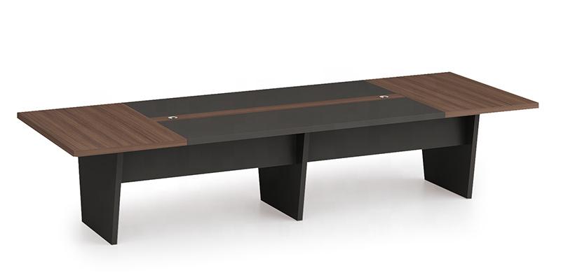 Modern Design 10 Seater Conference table,made of MFC melamine board (KT-02C3614)