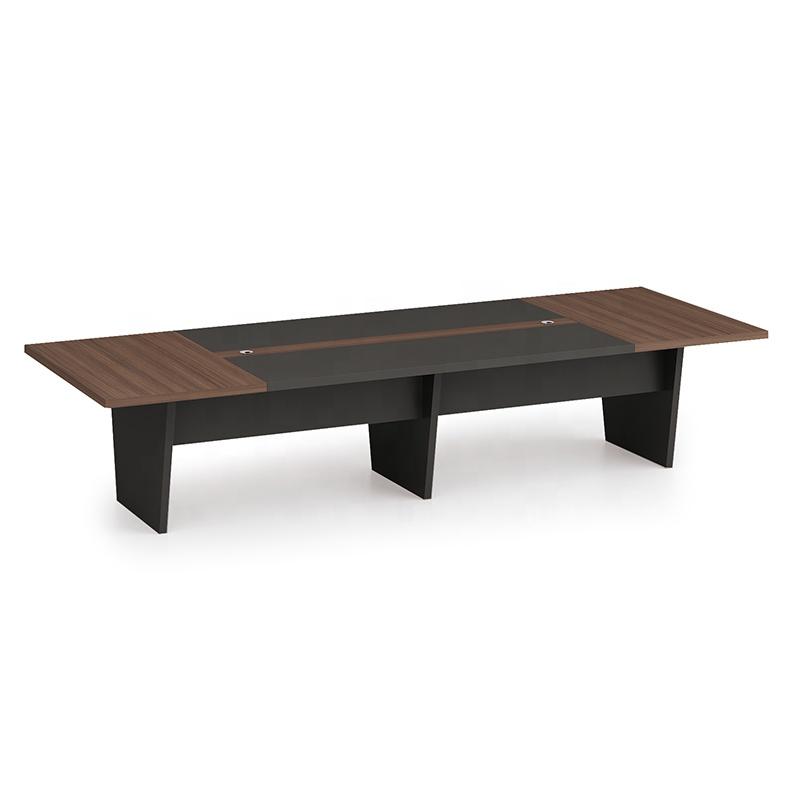 Modern Design 10 Seater Conference Table, made of melamine board (KT-02C3614)
