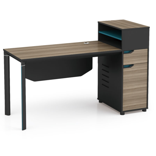 1-Person Office Workstation With File Cabinet(LT-02W1506)