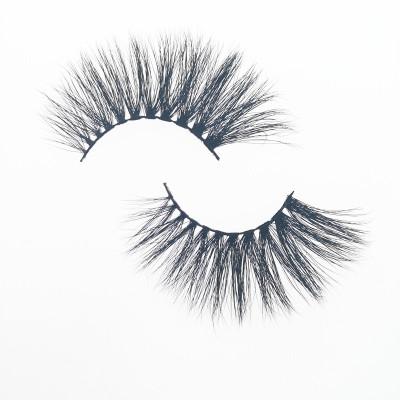 Veteran wholesale custom 3d strip mink eyelashes private label with eyelash box