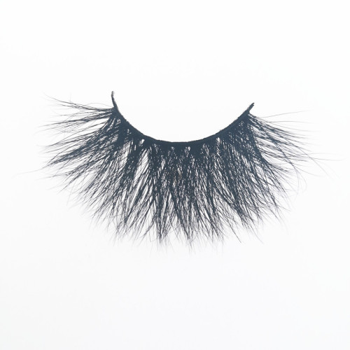 Veteran wholesale faux mink 25mm eyelashes 3d with package box