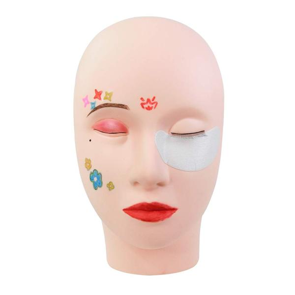 eyelash extension mannequin training head Veteran training mannequin head for eyelash extension