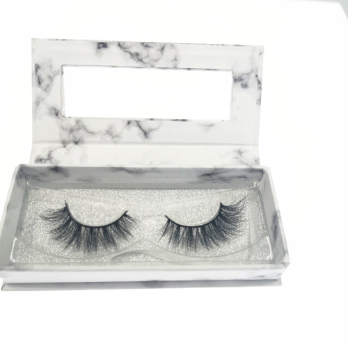 Veteran wholesale real mink eyelashes 3d with eyelashes package box
