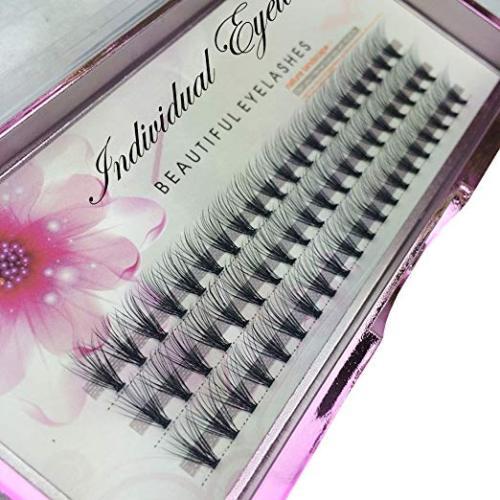 Veteran false eyelashes 20d individual extension tray high quality with custom eyelash package