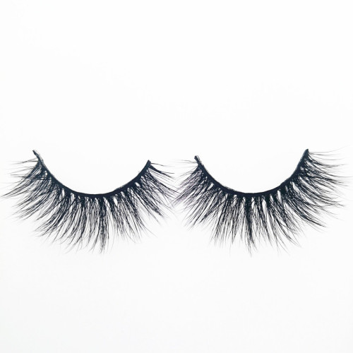 Veteran false strip mink eyelashes wholesale with package box