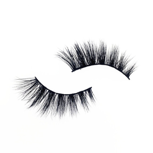 Veteran 4d luxury mink false strip eyelashes with packaging box