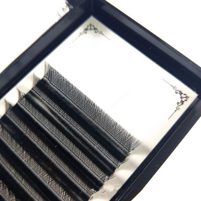 Veteran wholesale YY individual 2019 eyelash extension with lash extensions box