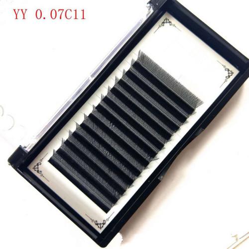 Veteran wholesale YY individual 2019 eyelash extension with lash extensions box