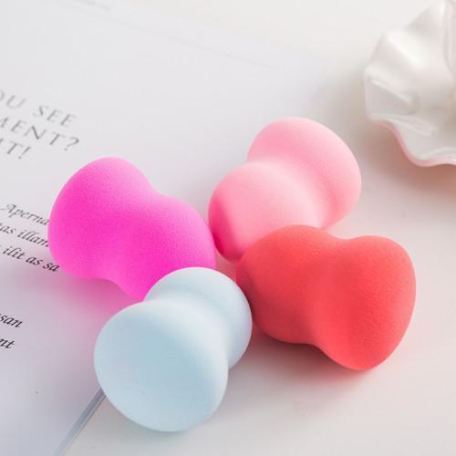 2019 Wholesale Customized Color Popular Eco-friendly makeup sponge puff facial powder puff