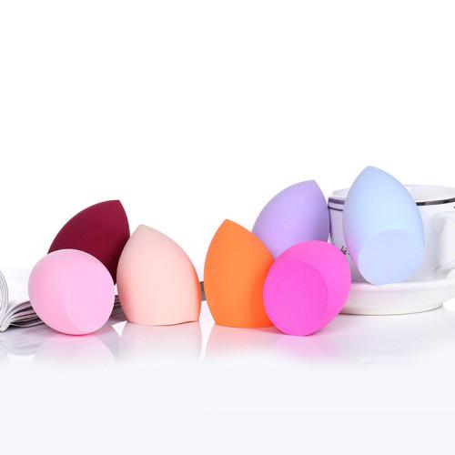 2019 hot Soft Cosmetic Face Makeup Powder Puff Sponge Microfiber Beauty Sponge latex makeup sponge
