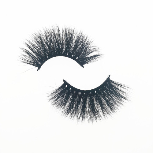 Qingdao Veteran 25mm 3d mink eyelashes private label with eyelash box packaging private label