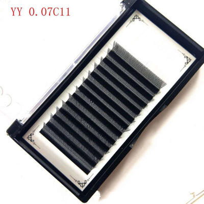 Veteran lash extension supplies y eyelash extensions with eyelash logo package box