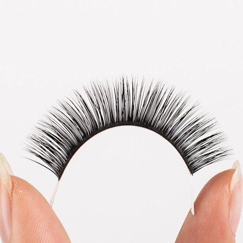 Veteran .07 lash extensions 8 week C curl eyelash extensions with custom packaging box