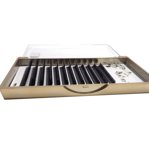 Veteran lash extension supplies c shaped eyelash extensions wholesale with private label box