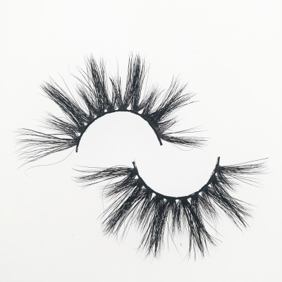 Qingdao Veteran own brand private label mink eyelashes wholesale lashes with eyelash packaging box