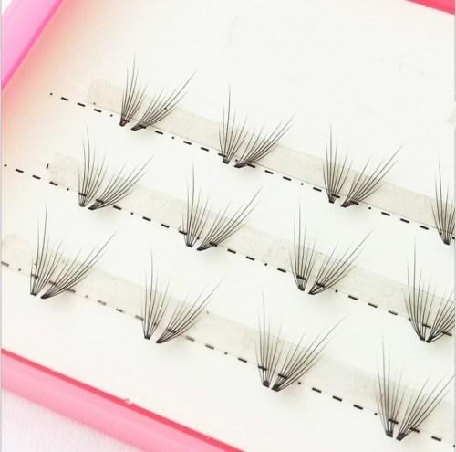 Veteran 100% handmade individual synthetic eyelash extension private label eyelash extensions