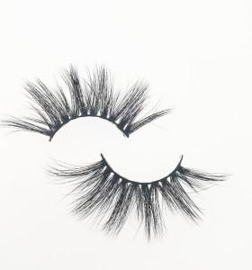 Qingdao Veteran make your own brand eyelashes fashion 3d mink eyelashes wholesale with packaging box